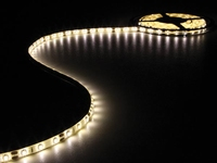 Led strip 5mtr warm wit 300 led's + voeding