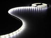 Led strip 5mtr Helder wit 300 led's + voeding