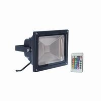 RGB Led straler 20watt. + afstand bed.