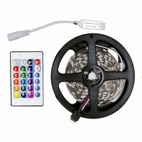 RGB Led strip 5mtr. + controller 230Vac 150Led's