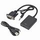 VGA to HDMI Converter + audio